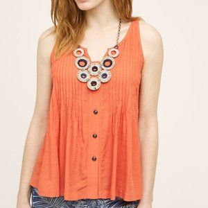 ANTHROPOLOGIE MAEVE Samoa Swing Tank